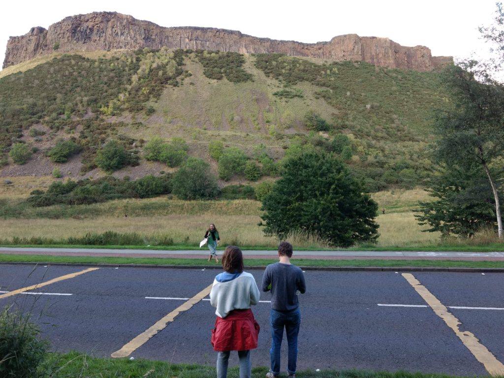Arthur's Seat and cast