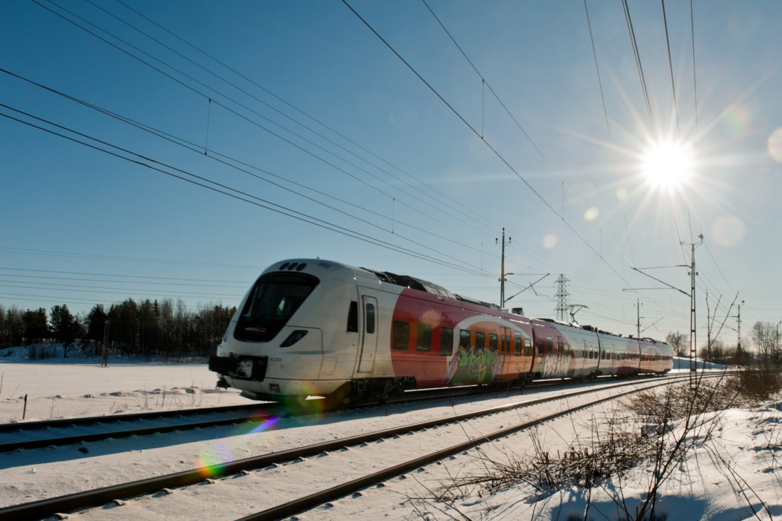 Train travel in Sweden