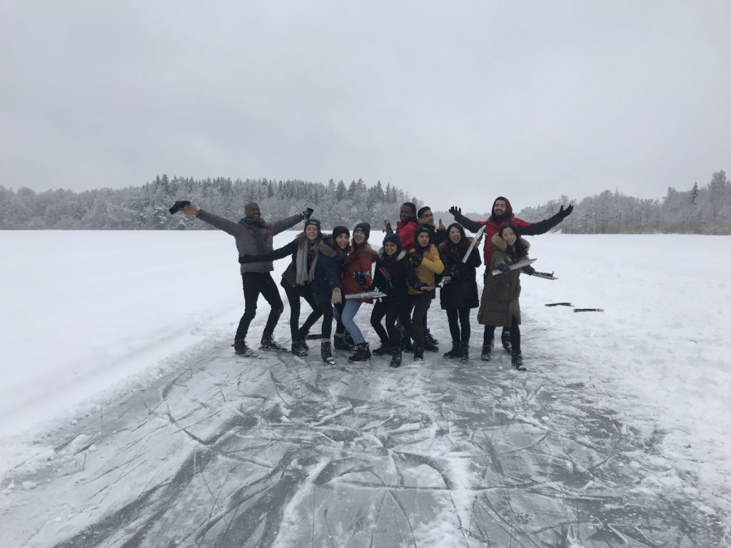 Nordic Skating with Digital Ambassadors 2017/18