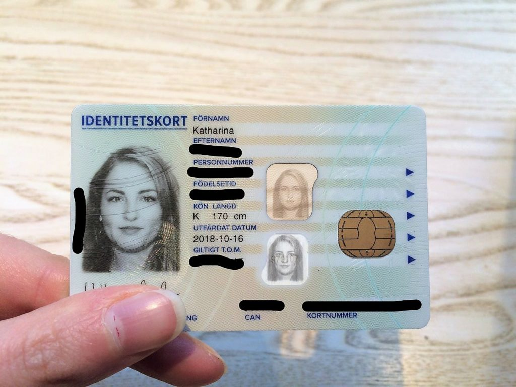 Swedish ID card