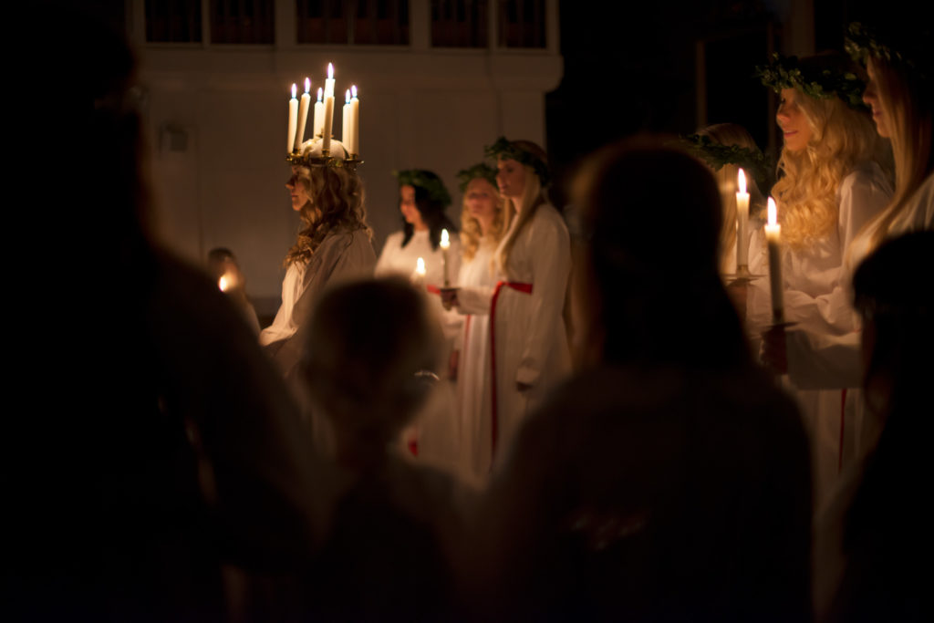 Lucia celebration