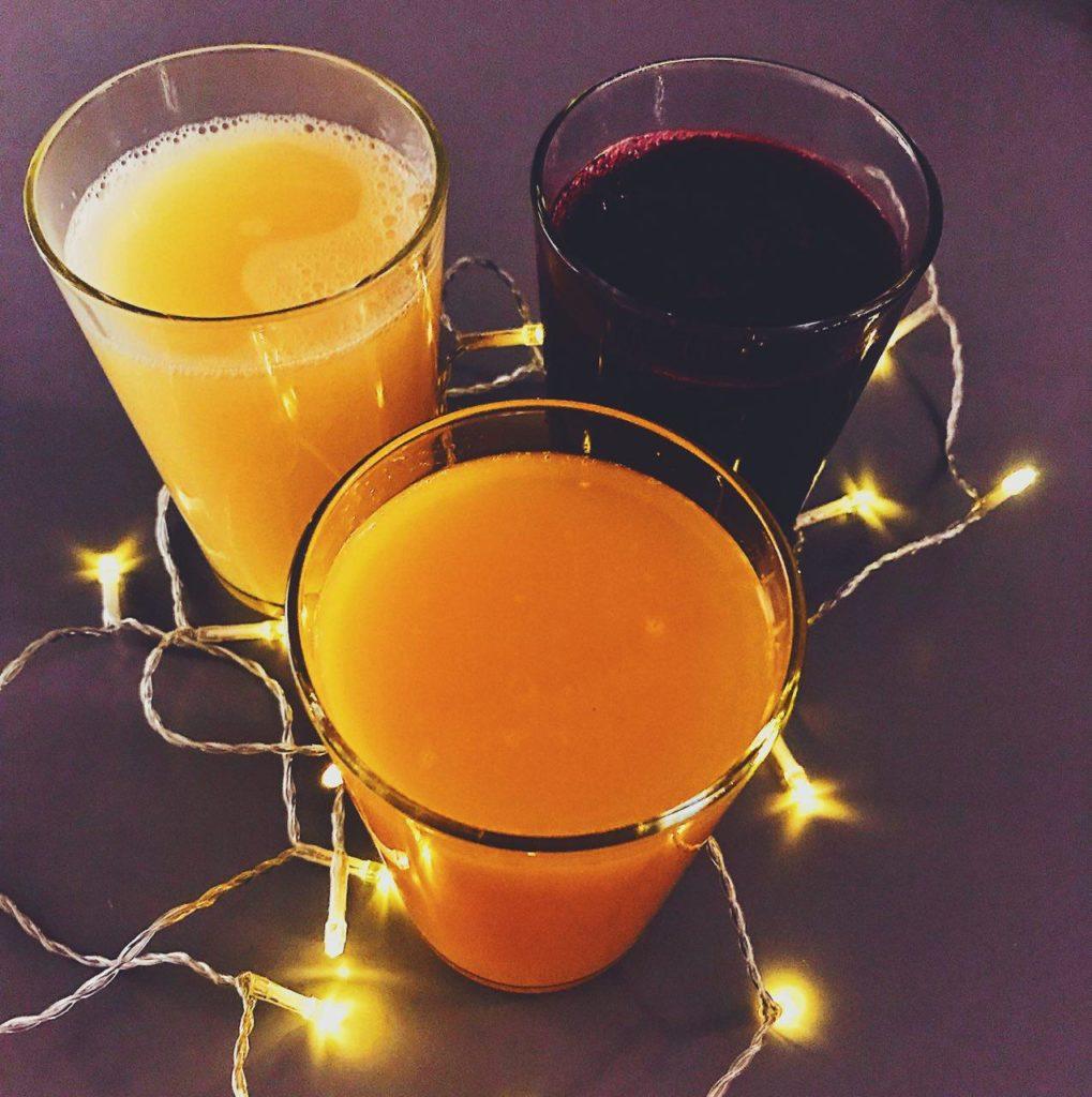 3 types of juice