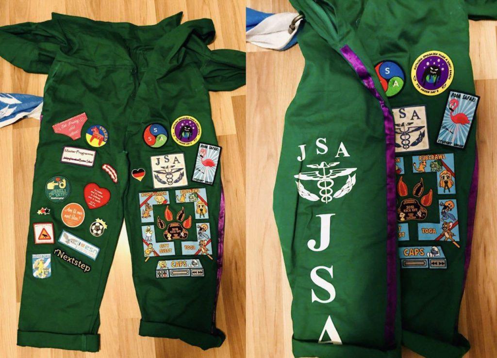 green JIBS overall