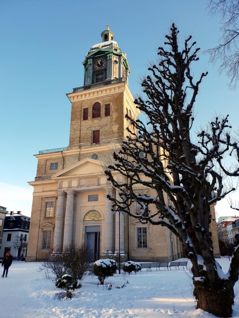 Gothenburg Cathedral from the outside/ Credit: Jano Zepter