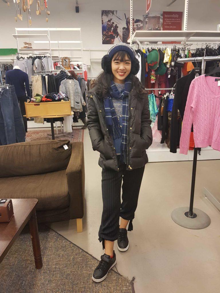 Challenge #3: Yen's outfit/ Credit: Yen