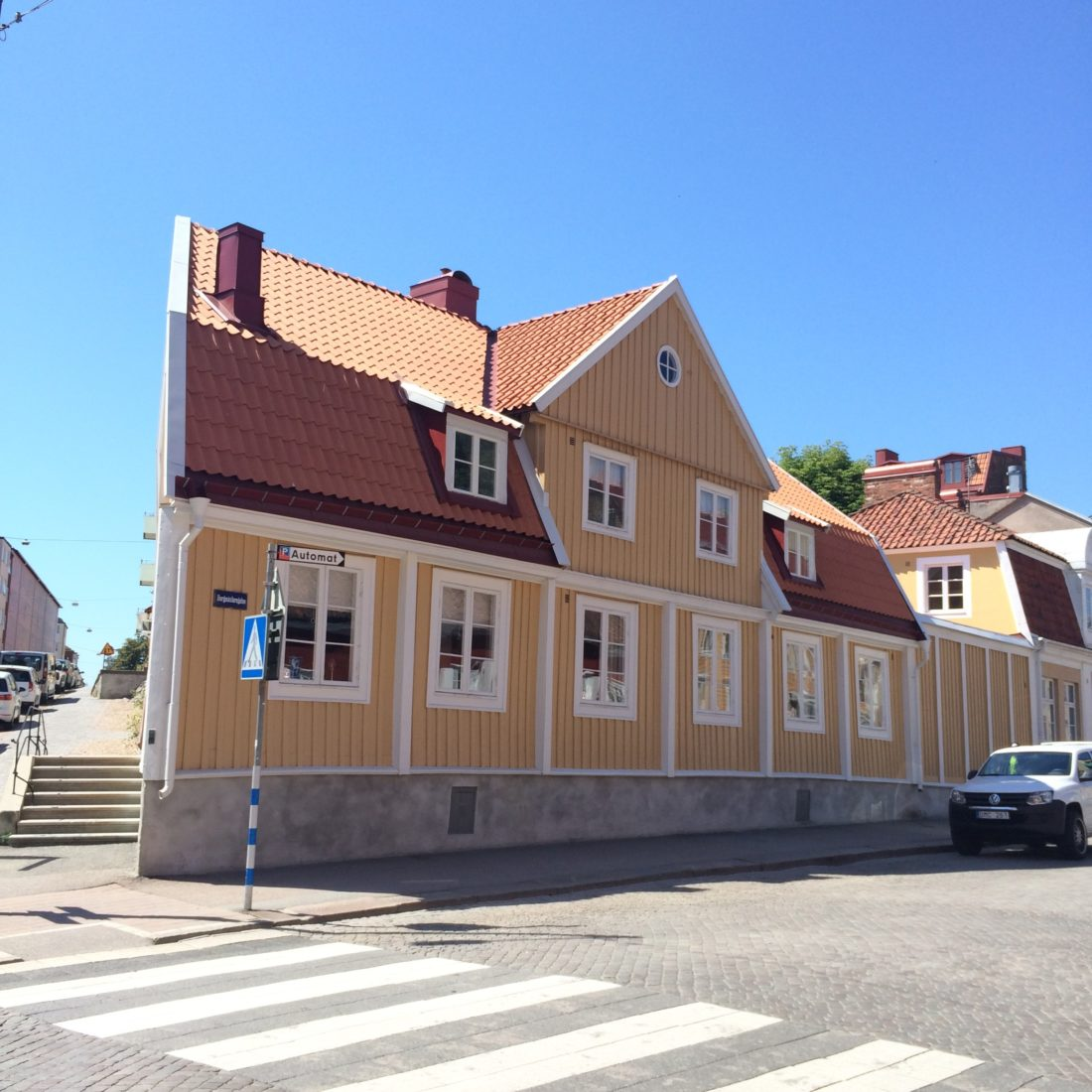 Strolling around Karlskrona/ Credit: Katharina