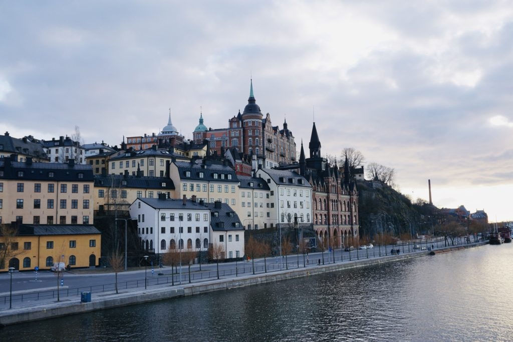 View towards Södermalm/ Credit: Katharina