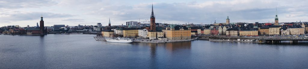 View from Monteliusvägen located on Södermalm to Riddarholmen/ Credit: Katharina