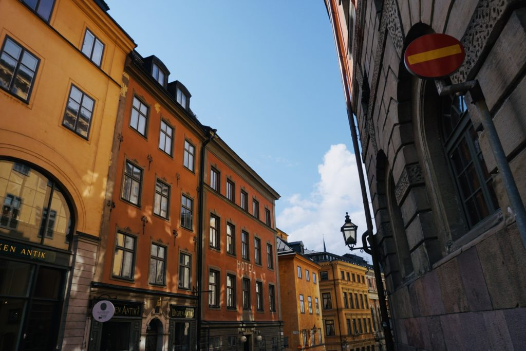 Pretty streets in Gamla Stan/ Credit: Katharina