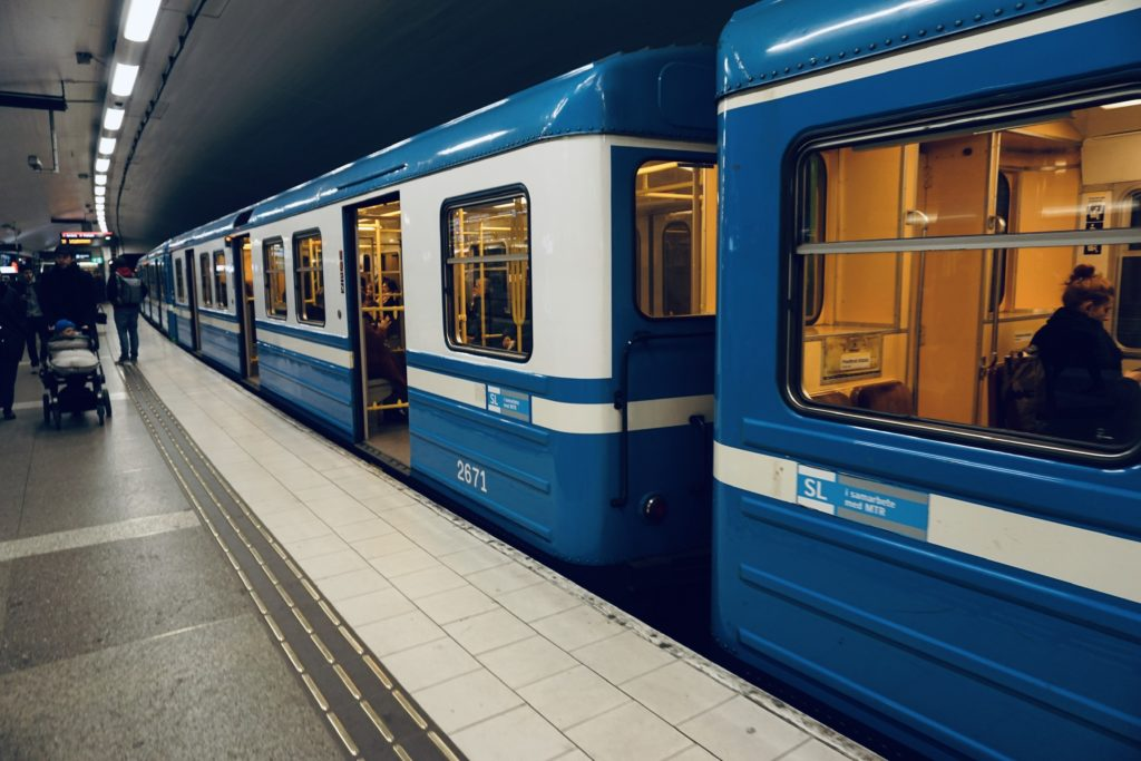Tunnelbana (metro)/ Credit: Katharina