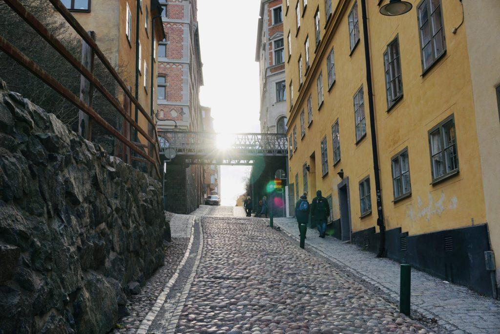 Cobble stone streets/ Credit: Katharina
