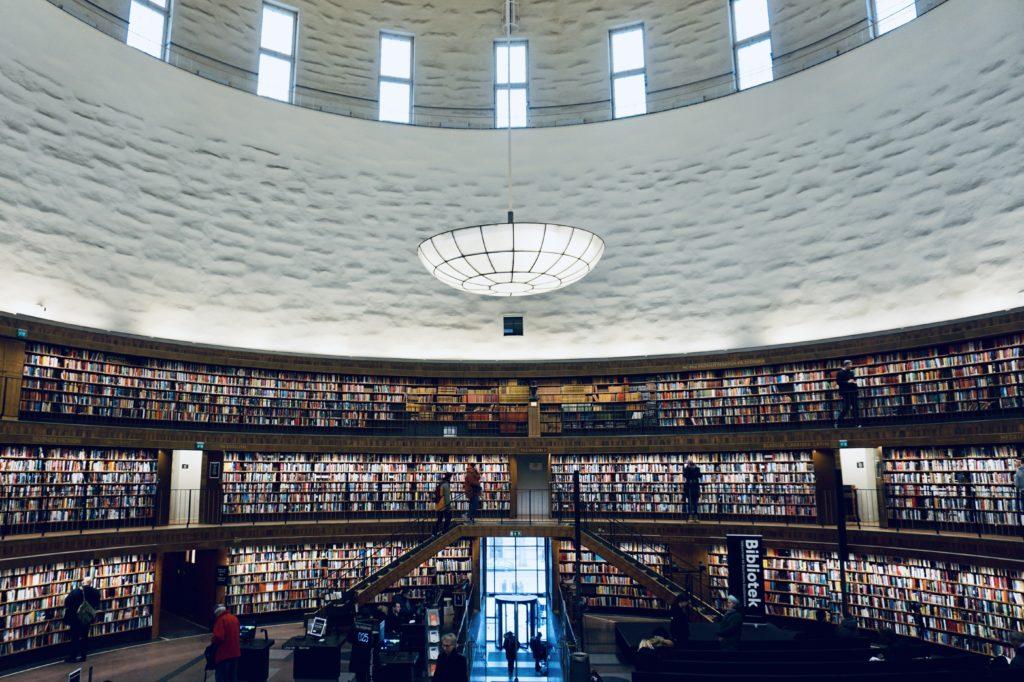 Stockholm Stadsbibliotek (public library)/ Credit: Katharina