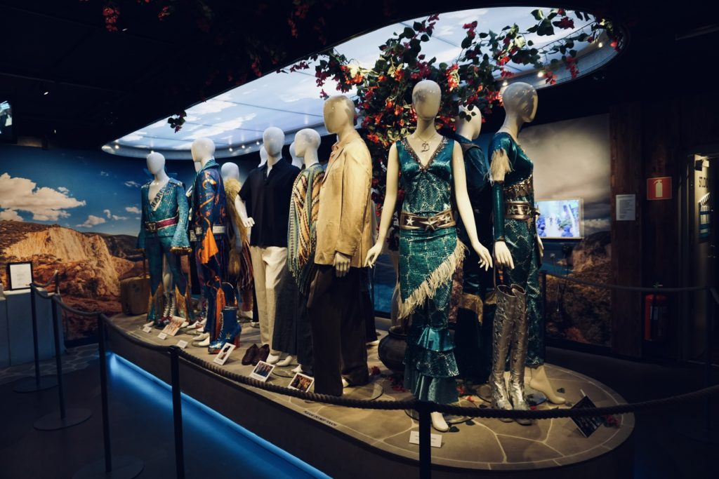 Mamma Mia costumes at ABBA Museum/ Credit: Katharina