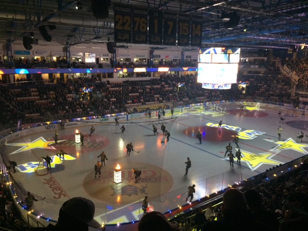 HV71 hockey match/ Credit: Katharina