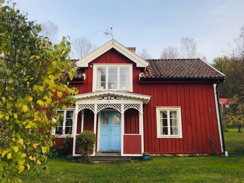 Falun red houses/ Credit: Katharina