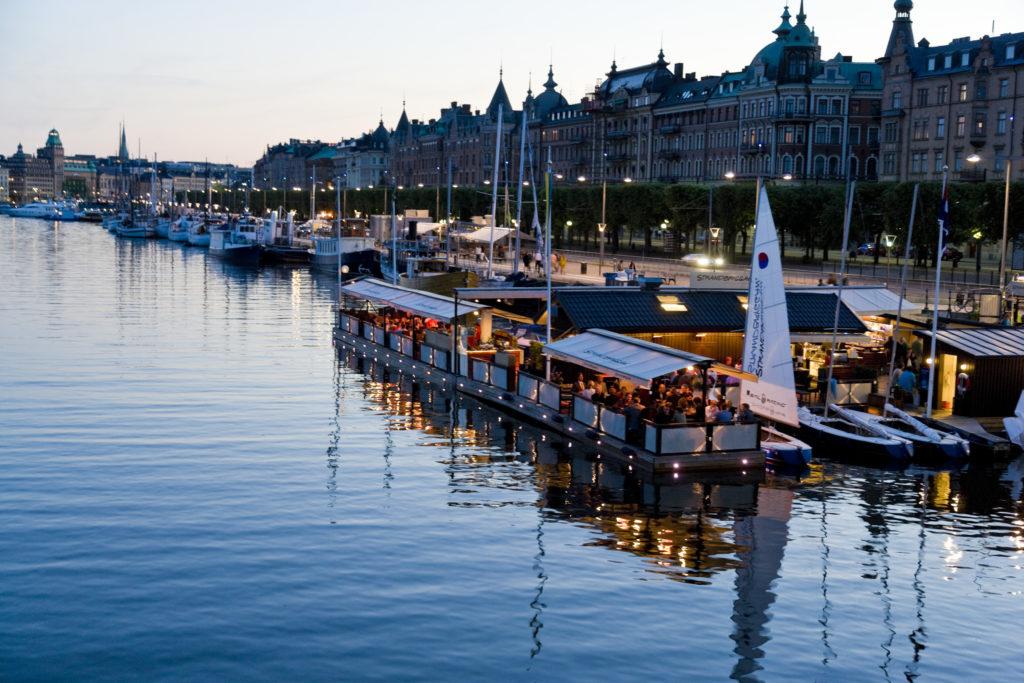 Strandvägen Stockholm/ Photo: Henrik Trygg/imagebank.sweden.se