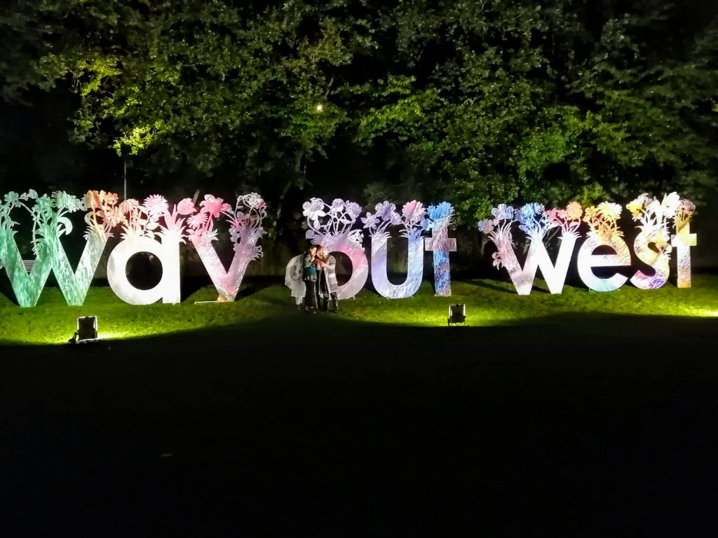 Way Out West signage