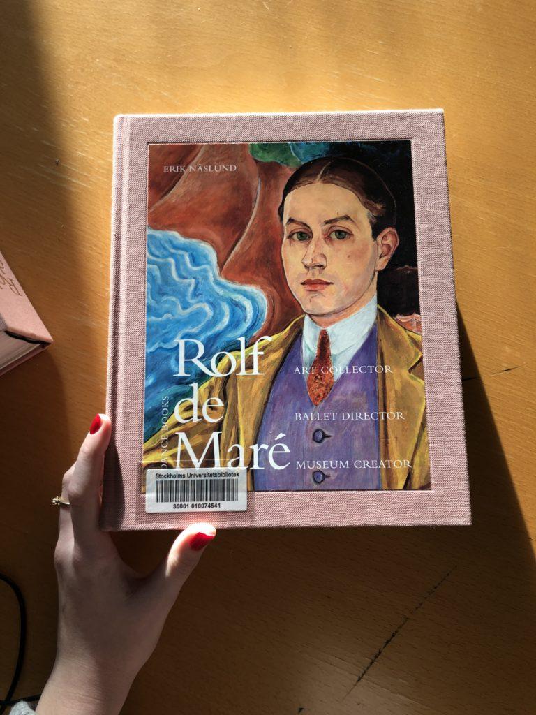 Rolf de Maré pink book