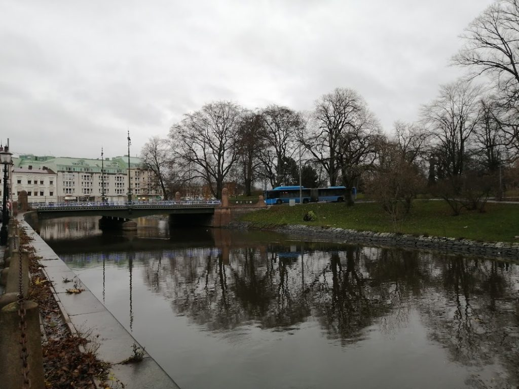 River bank in Gothenburg
