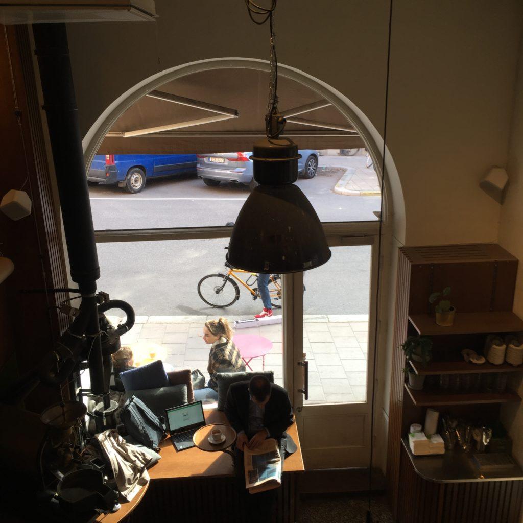 Johan och Nyström café