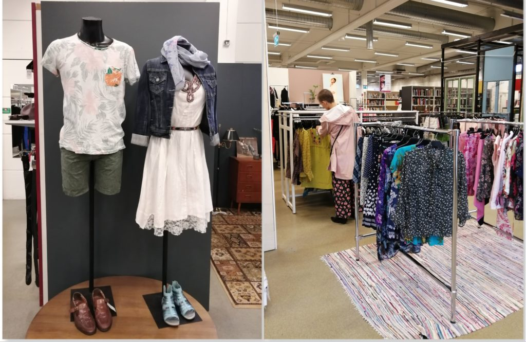 Erikshjälpen Borås Ladies Clothing Section