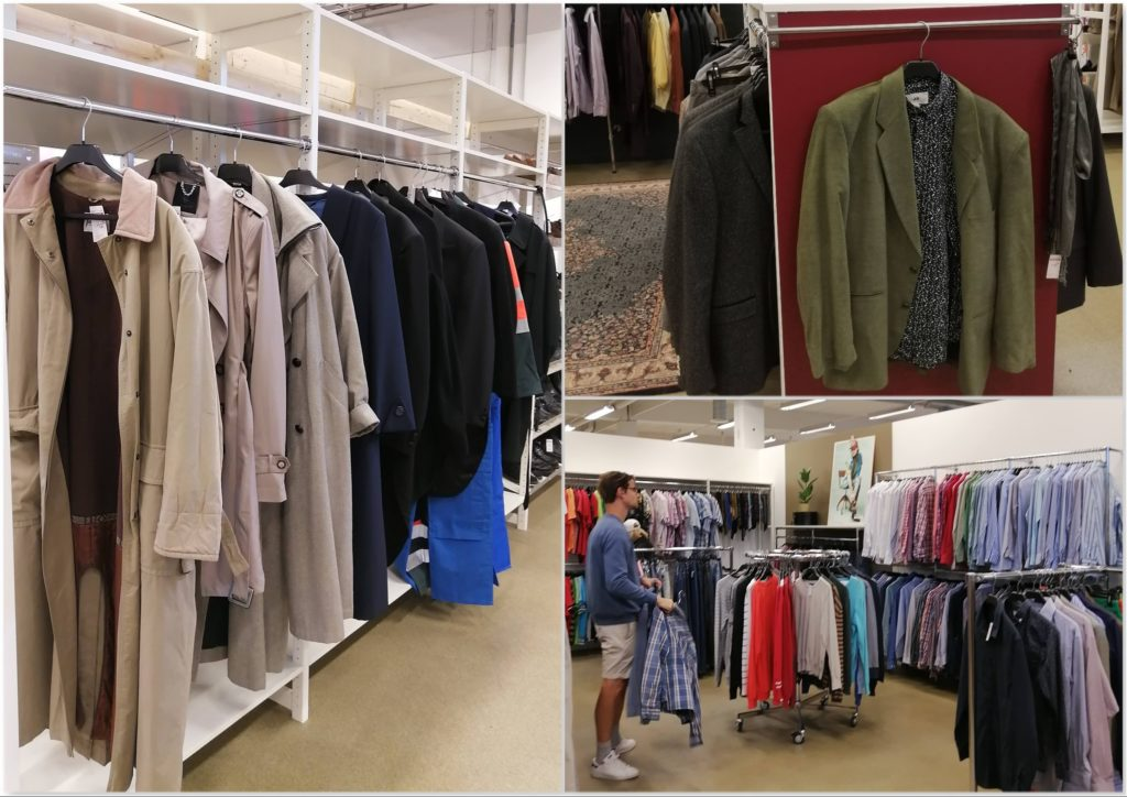 Erikshjälpen Borås Coats and Mens Clothing Section