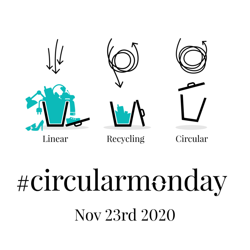 Circular Monday Linear Recycling Circular